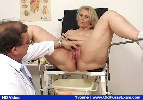 Have a look gorgeous Yvonne getting examined