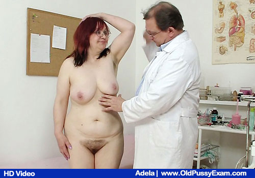 Have a look mature redhead get examined