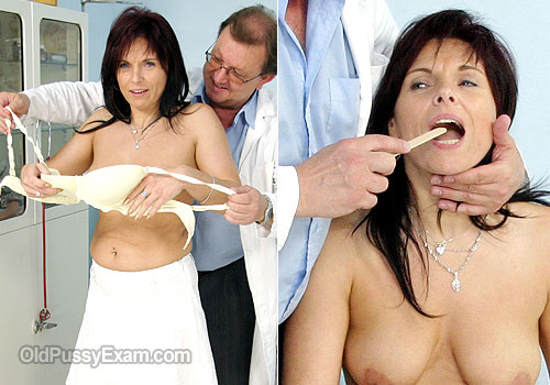 Milf Livie humiliating gyno clinic exam