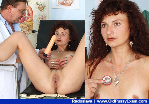 Skimpy Slim Brunette Girlie with Natural Tiny Juggs Examined