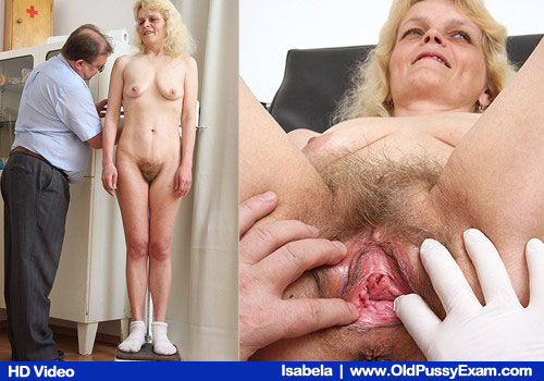 Wife Golden hairy Girl in addition to Unshaved Sex cooter Examined by Doctor